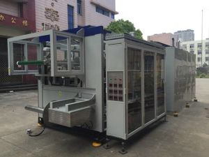 Chinese Cheap Plastic Vacuum Forming Machine pictures & photos