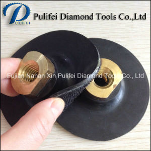 5/8′′-11 Flexible Rubber Holder for Hand Grinder Diamond Pad pictures & photos