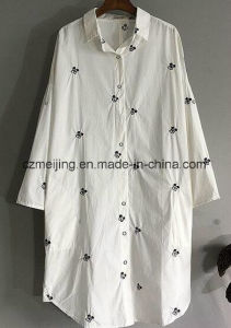 Japanese Styel Women`S Long Shirt