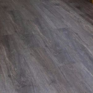 New Design Black Interlock Imitation Wood Flooring Vinyl pictures & photos