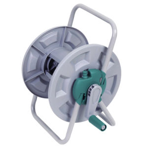 High Quality Garden Water Hose Reel with Tubular Steel Frame pictures & photos