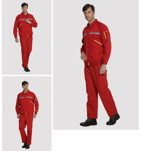 with En11611 Standard 100% Cotton Flame Retardant Overall pictures & photos