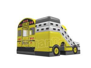 School Bus Inflatable Combo Jumping Bouncer for Kids pictures & photos
