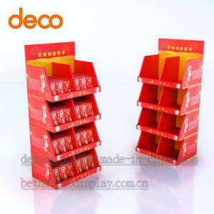 Supermarket Paper Display Cardboard Display Stand for Retail pictures & photos