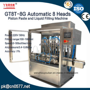 Automatic Bottling Liquid Filling Machine for Engine Oil and Coolant pictures & photos
