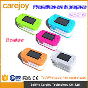 Smart Pulse Advanced Finger Tip Pulse Oximeter with Five Color OLED Screen-Candice pictures & photos