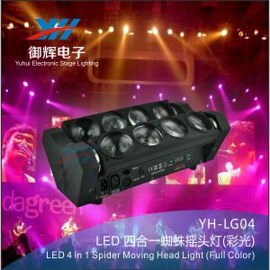 LED 8 Spider Beam Corey Stage Lights 8 * 10W Moving Head Light pictures & photos