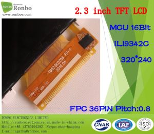 2.3 Inch 320X240 MCU 16bit 36pin Customized Touch TFT LCD Display pictures & photos