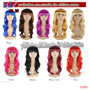Synthetic Afro Halloween Costume The Queen Party Bobo Wigs (C3051) pictures & photos