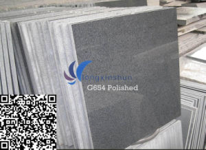 G654 Customized Natural Sesame Black Stone Tile pictures & photos