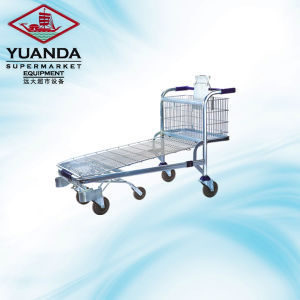 High Quality Supermarket Flat Trolley for Sale pictures & photos