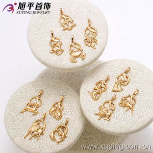 31997 Twelve Constellations Pendant Gold Anklet Designs in 18 Gold CZ pictures & photos