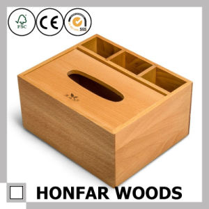Solid Beech Wood Storage Box for Home Desktop Decoration pictures & photos