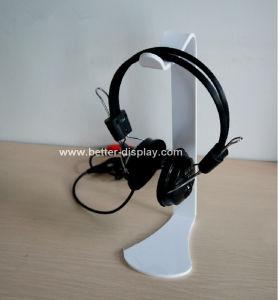 Acrylic Clear Headphone Holder Btr-C6012 pictures & photos
