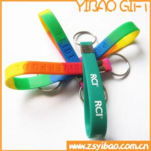 Wholesale Custom Logo Silicon Key Chain pictures & photos
