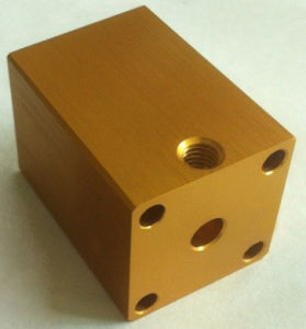 CNC Machined Aluminum machinery Parts pictures & photos