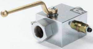 Carbon Steel High Pressure Safety & Shut-off Block Valve pictures & photos