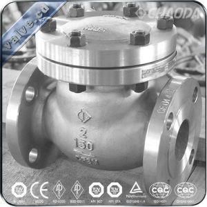 API Cast Steel Cryogenic Swing Check Valve pictures & photos