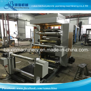 Two-Colour Flexible Flexo Printing Machine pictures & photos