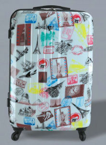 Polycarbonate Luggage with Print