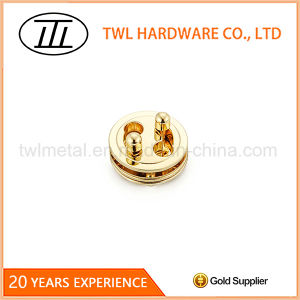Tai-Chi Round Pie Shaped Hardware Turn Lock for Bags pictures & photos