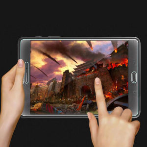 Anti-Finger HD Screen Protector Tempered Glass Film for Samsung T350 pictures & photos