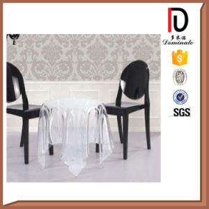 Clear Transparent PC Wedding Armrest Ghost Chair pictures & photos