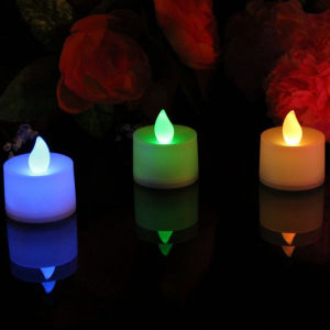 Events Decotative Crafts Yellow Color LED Fairy Candle Tea Light pictures & photos