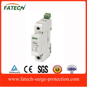 China PV 1P 20ka Lightning SPD Solar DC Surge Protection pictures & photos
