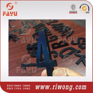 Acrylic Vehicle Number Plate Lettering, Plastic Numbers Letters pictures & photos