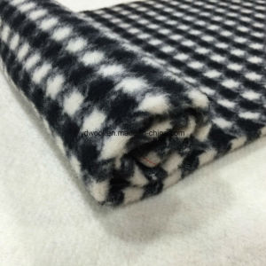 Napping Check Houndstooth Wool Fabric pictures & photos