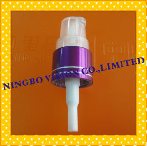 Plastic Treatment Pumps Cream Pump with Dust Cap pictures & photos