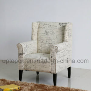 Living Room Furniture with Armrest and Special Letter Printed on Upholstery (SP-HC445) pictures & photos