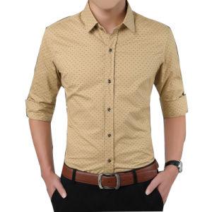 Wholesale Men Dress Shirts Business Formal Work Wear Shirts pictures & photos