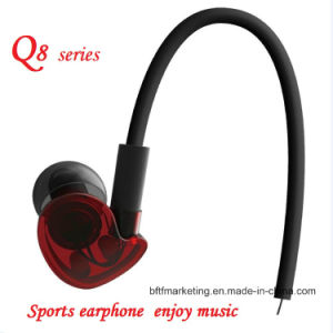 New Sport Earphone for Running with Mic HiFi Deep Bass Transparent Unique Design pictures & photos