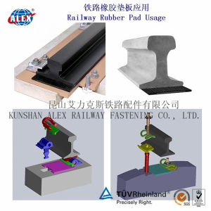 Rubber Pads for Steel Sleepers (SKL) pictures & photos