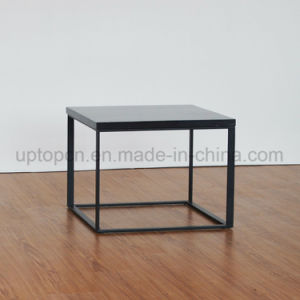 Simple Style Square Artificial Marble Side Table (SP-GT456) pictures & photos