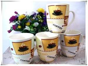 Simple Fashion Porcelain Coffee Mug pictures & photos