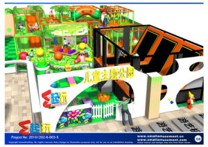 Dwarf Themed Indoor Playground with Big Slide pictures & photos