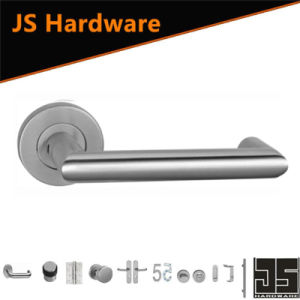 China Europen Type SSS Internal Door Handles with Locks pictures & photos