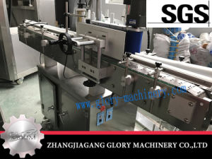 Automatic Round Bottle Stick Labeling Machine pictures & photos