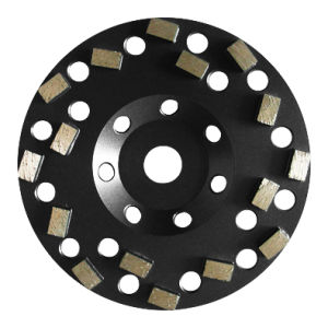 Turbo Diamond Grinding Cup Wheel pictures & photos