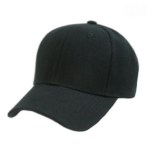 100%Cotton Long Bill 6 Panel Cotton Promotional Custom Baseball Cap pictures & photos