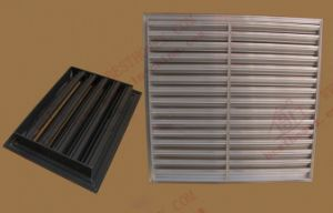 Aluminium Protective Air Vent/ Louvers Window (BHA-BL02) pictures & photos