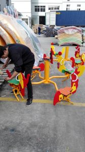 Children Game Swiviel Chair Outdoor Playground Equipment (YL55655-01) pictures & photos