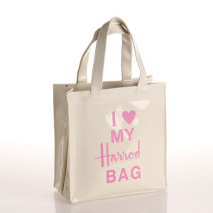 Small Size White Waterproof PVC PU Shopping Bag (H017) pictures & photos