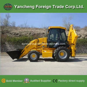 Wz40-28 Compact Backhoe Wheel Loader with Ce Approval pictures & photos