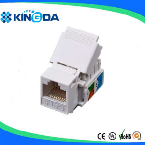 UTP CAT6 Keystone Jack RJ45 Jack Made in China pictures & photos