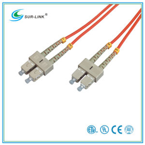 SC/PC-SC/PC mm 62.5/125 Duplex with Clips 2m Fo Patch Cord pictures & photos