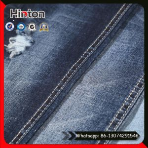Accept Small Order Cotton Lycra Indigo Denim Fabric for Jeans pictures & photos